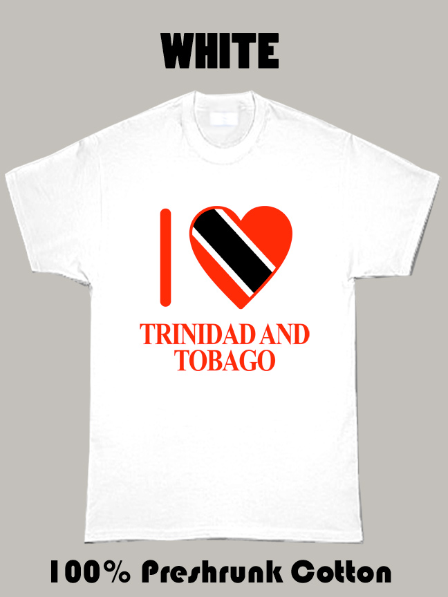 I Love Trinidad And Tobago Olympics Country T Shirt