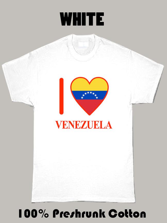 I Love Venezuela Olympics Country T Shirt
