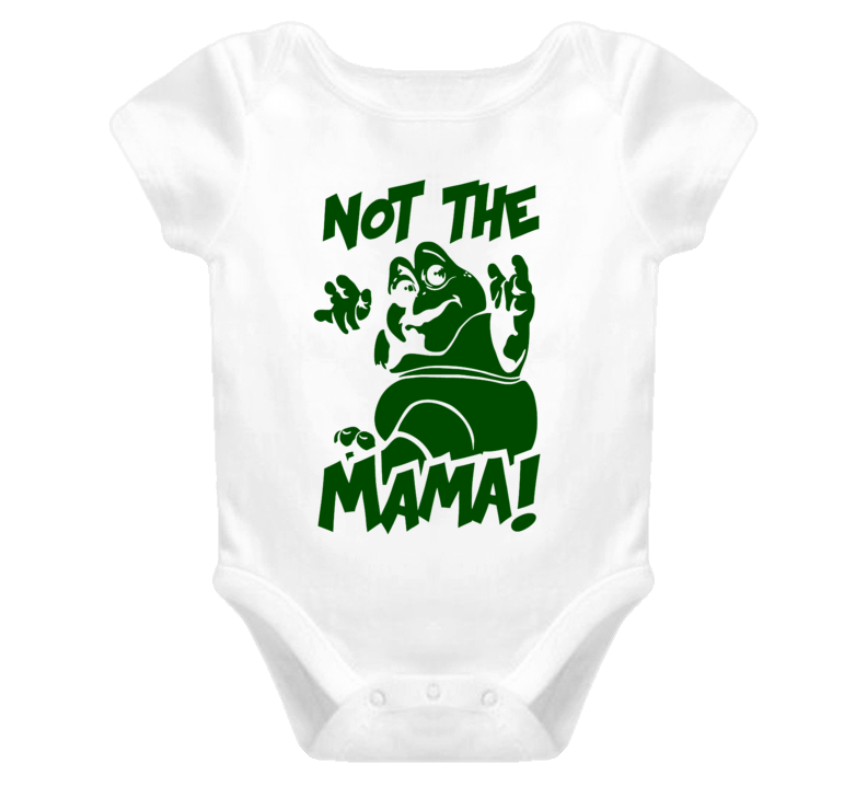 Not The Mama Dinosaurs tv show Baby Sinclair Saturday cartoon retro t-shirt baby one piece onesie 2