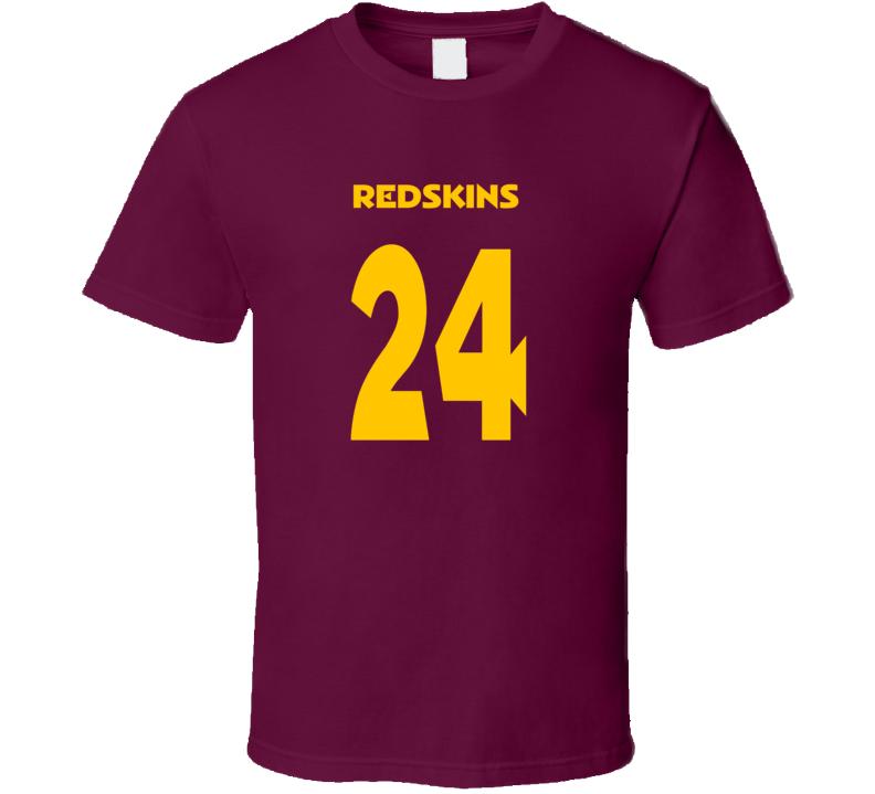 Josh Norman Washington Redskins 24 HTTR football trending t-shirt