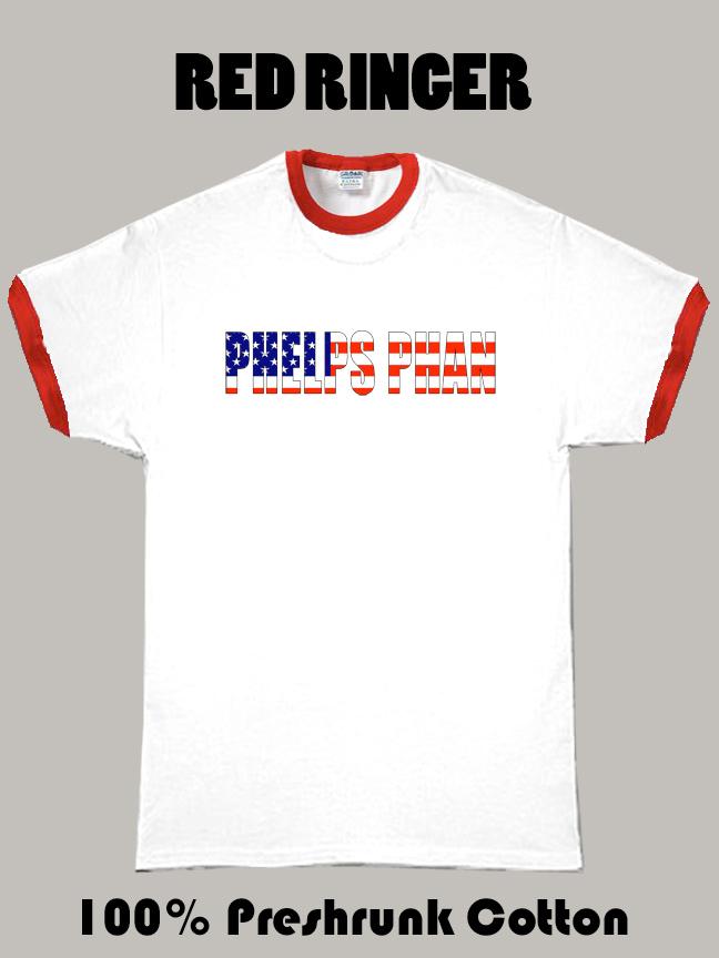 Phelps Phan Olympics T Shirt