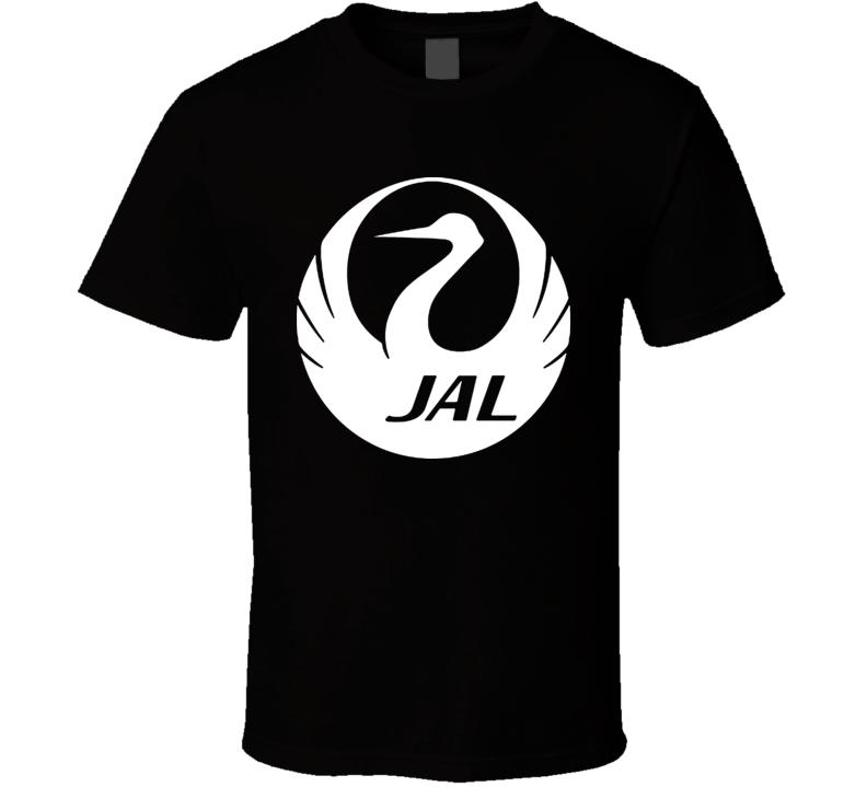 Jal Logo Black Shirt T Shirt