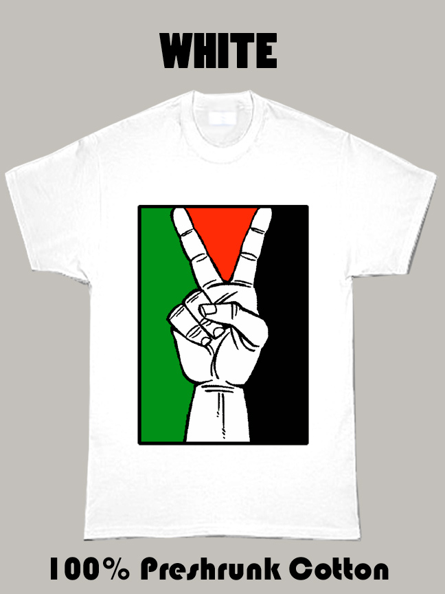 Palestine Flag Peace Country T Shirt