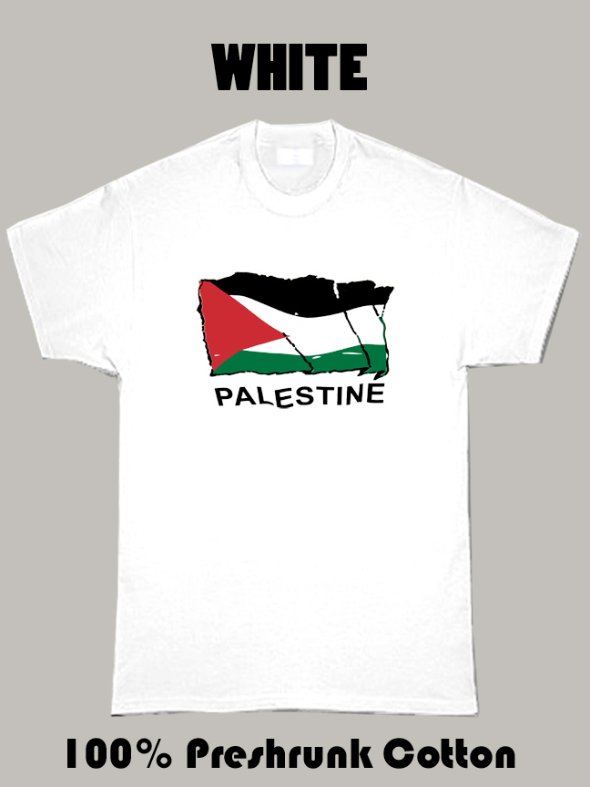 Palestine Flag Cool Country T Shirt