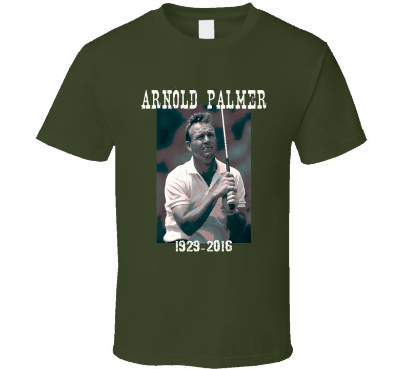 Arnold Palmer tribute Golf Legend Pro Arnie PGA t-shirt