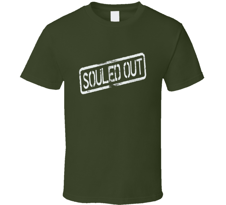 Souled Out trending R&B fan distressed  t-shirt 3