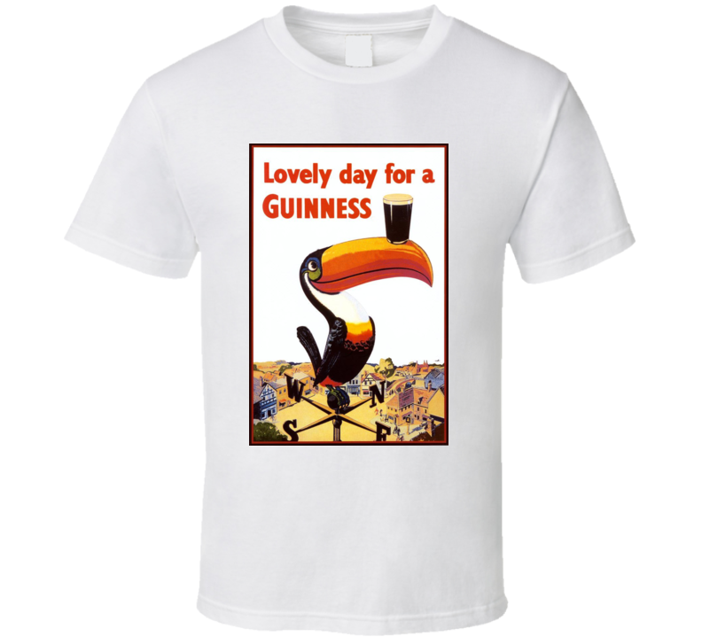 Lovely Day For A Guinness Beer Cool T Shirt