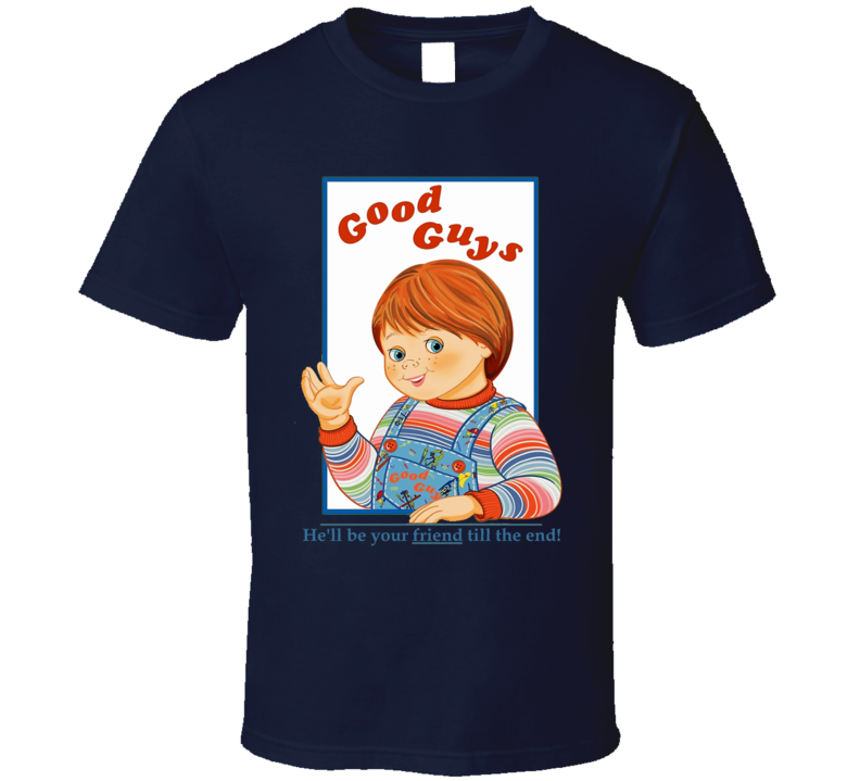 ec549127 Child's Play Good Guys Doll Chucky fan t-shirt