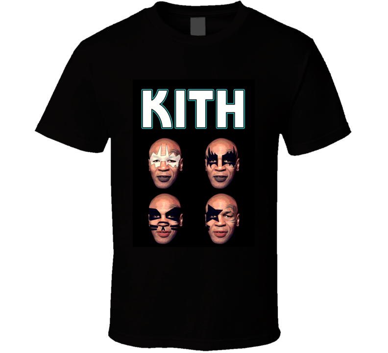 Mike Tyson funny Lisp Kith Rock and Roll face tattoos t-shirt