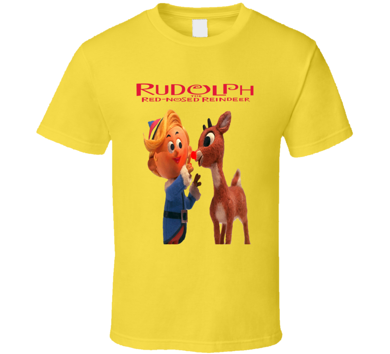 Rudolph the Red Nosed Reindeer classic Christmas TV show t-shirt