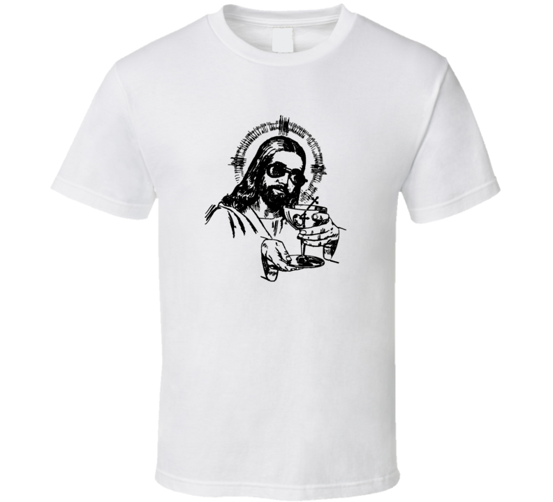 Jesus Eucharist Son of God with sunglasses trending t-shirt
