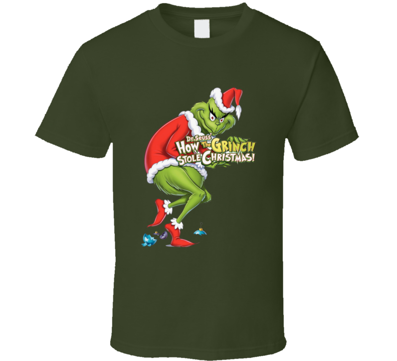 How the Grinch Stole Christmas Children's Dr. Suess classic t-shirt 2