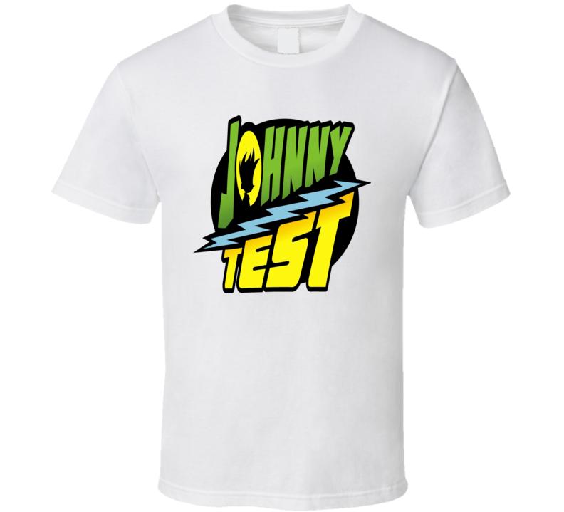 Johnny Test cartoon animated kids tv series logo t-shirt
