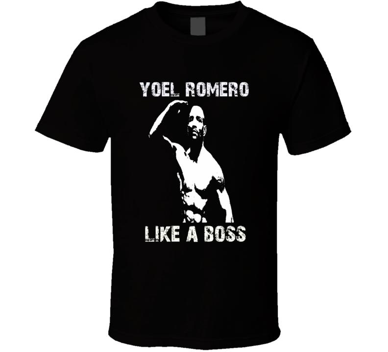 Yoel Romero Cuban mixed martial arts fighter UFC fan t-shirt