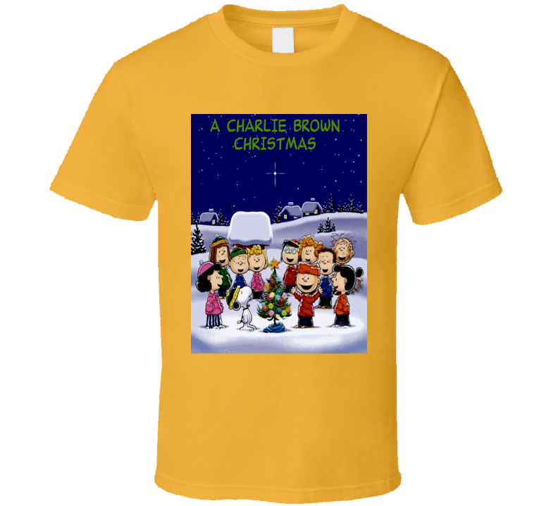 charlie brown christmas gang picture snoopy christmas tree t shirt - Snoopy Christmas Shirt