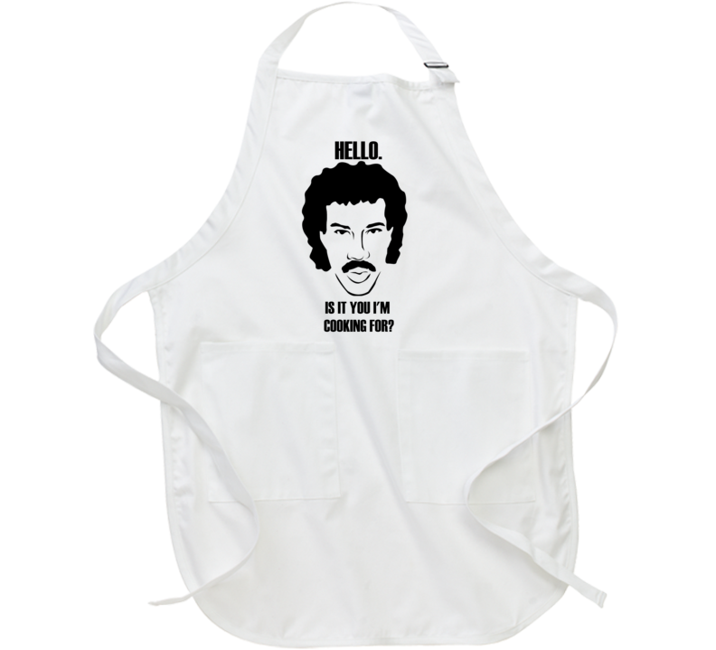 Hello Richie inspired funny BBQ Apron funny t-shirt