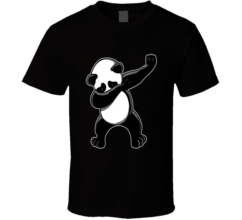 Dabbing Panda Bear dancing funny animal t-shirt