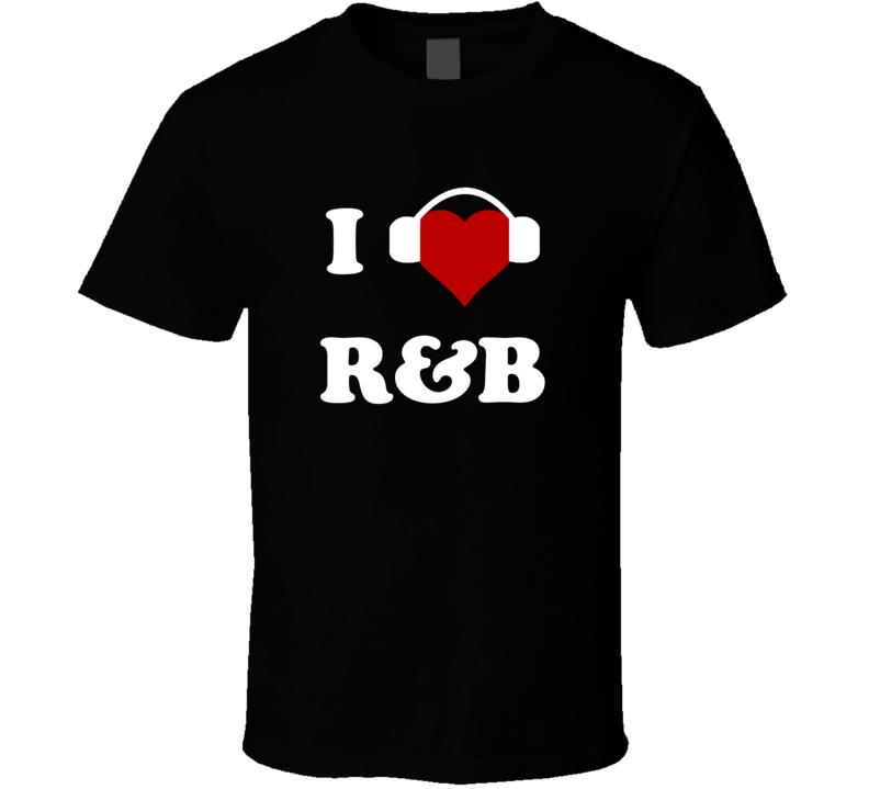 I Heart Love R&B Rock and Roll Blues Jazz Rap Hip Hop t-shirt