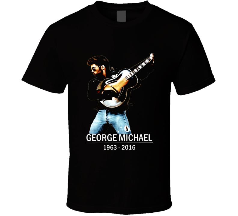 George Michael RIP Tribute Wham Faith Freedom t-shirt