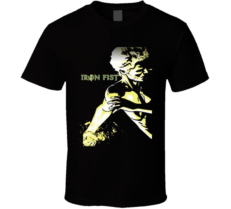Iron Fist superhero tv series Marvel comics Danny Rand t-shirt.png