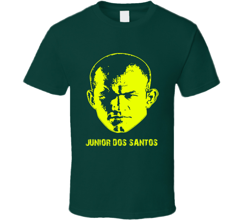 Junior Dos Santos MMA Heavy Weight Champ Brazil t-shirt