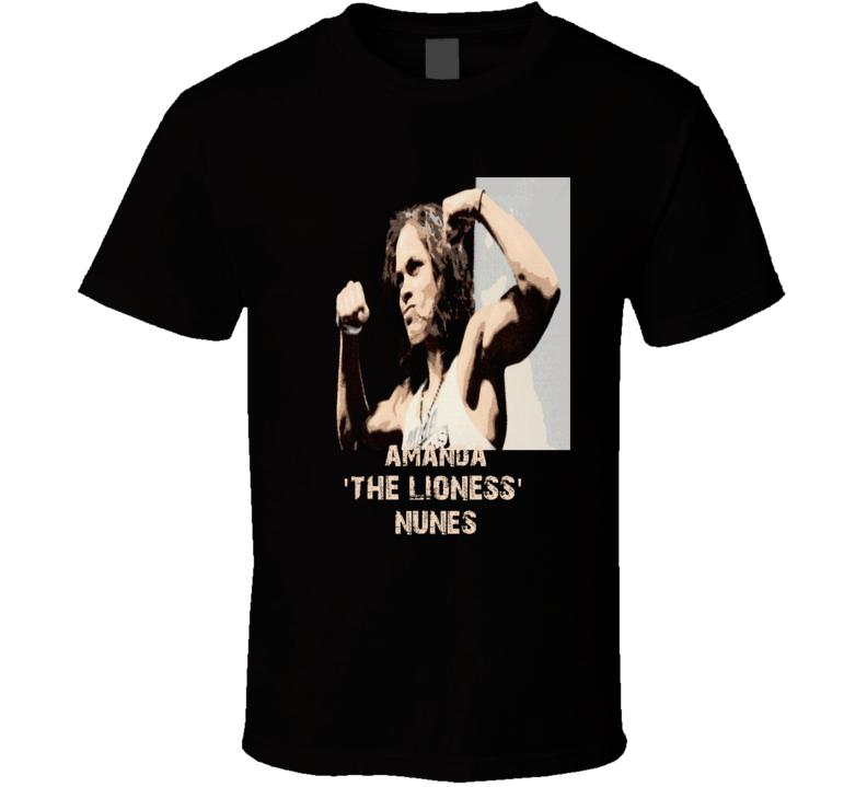 Amanda Lioness Nunes new MMA Women's Champion fans t-shirt