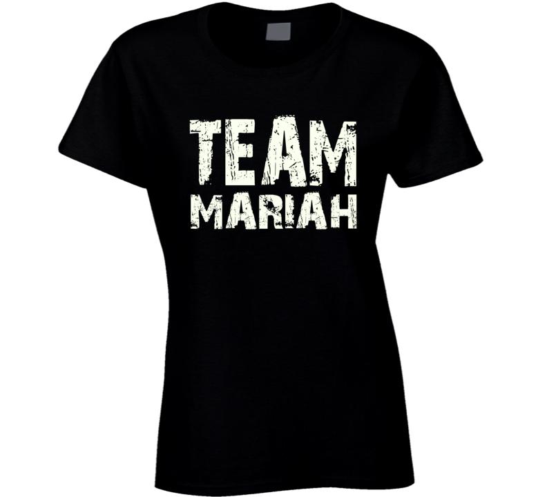Team Mariah New Years Eve concert lip sync pro Mariah fan t-shirt 2