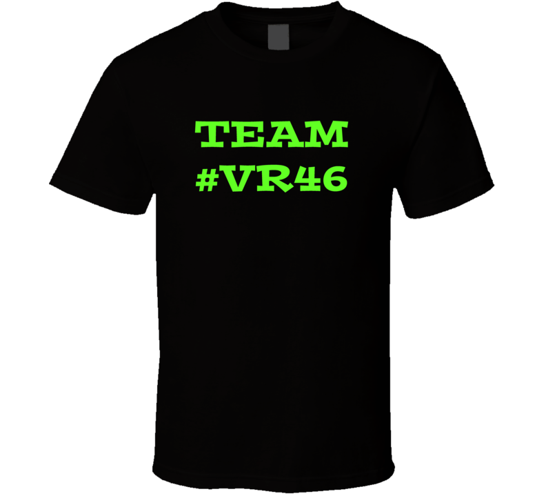Valentino Rossi 2017 Moto GP series Team #VR 46 racing fan t-shirt.png