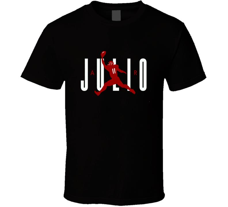 Julio Jones Air Julio Falcons Football playoffs 2017 fan t-shirt
