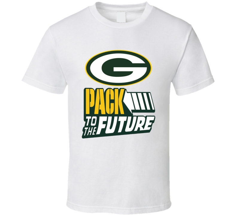 Green Bay Packers Pack to the Future Football playoffs luck fan t-shirt
