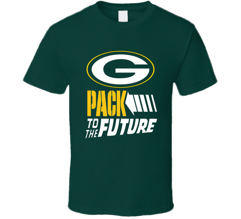 Green Bay Packers Pack to the Future Football playoffs luck fan t-shirt 2