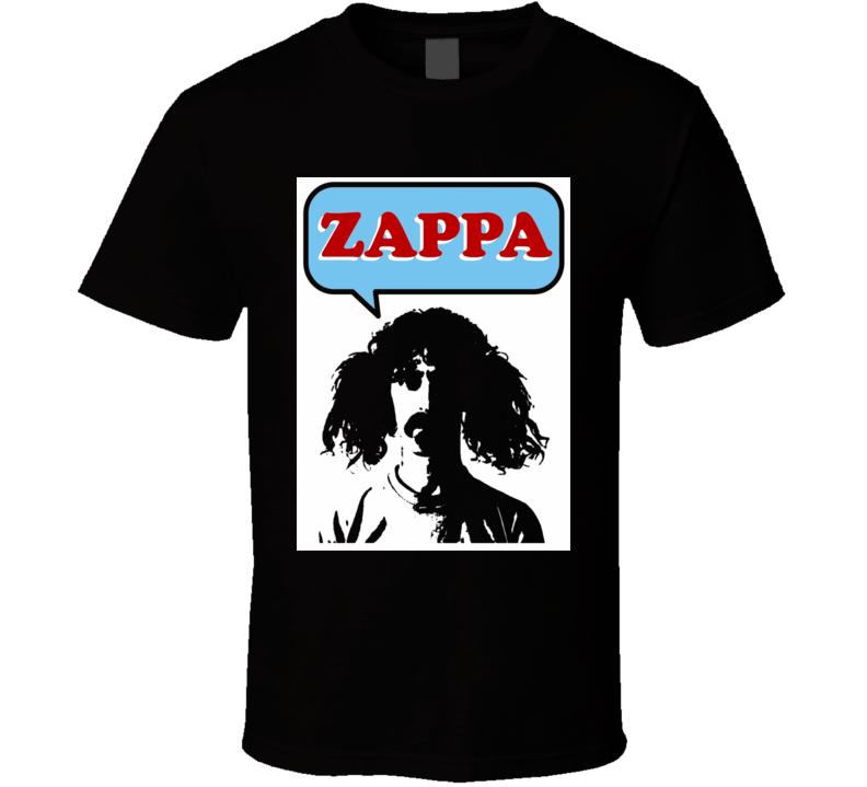 Zappa Frank Zappa music legend punk rock alternative jazz blues t-shirt