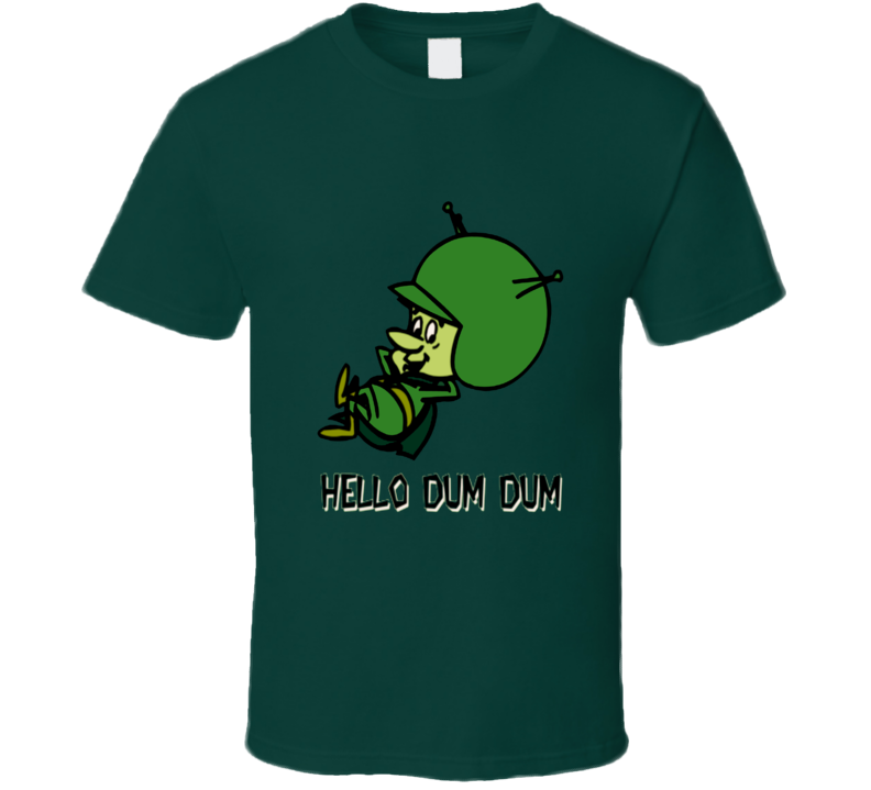 The Flintstones Great Gazoo classic cartoon alien dum dum t-shirt