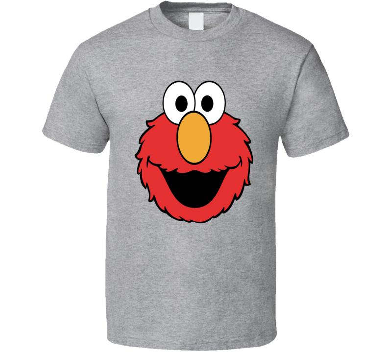 Elmo Sesame Street character tickle me classic kids tv t-shirt