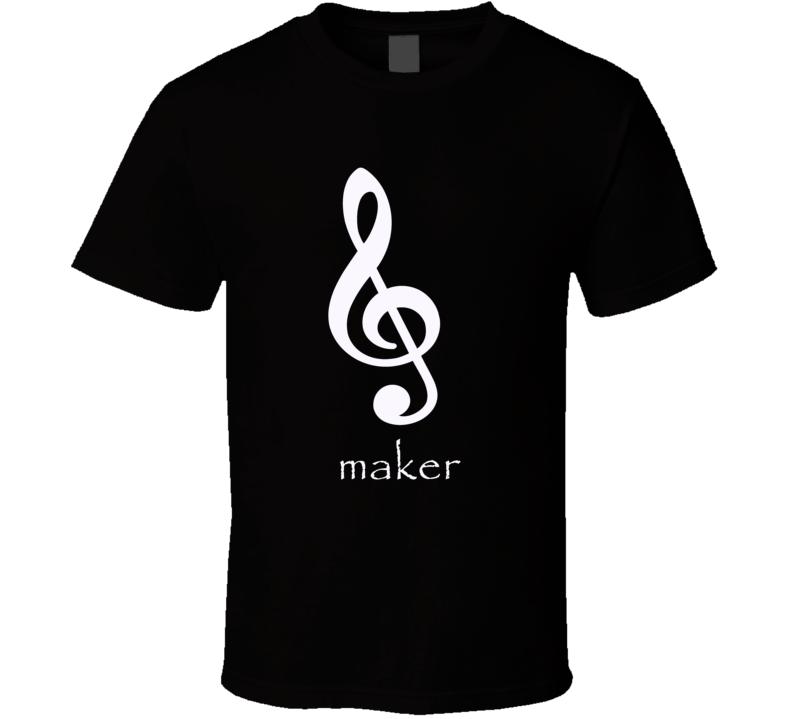 Treble maker funny trouble maker music class teacher t-shirt