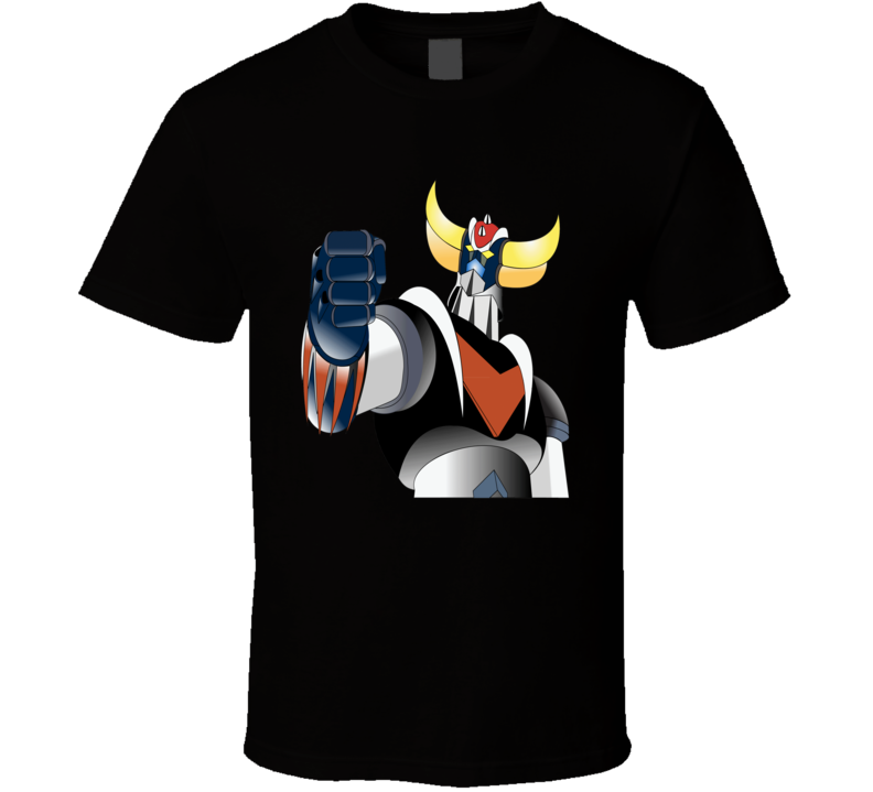 Grendizer UFO Robot Goldrake come to fight anime character t-shirt