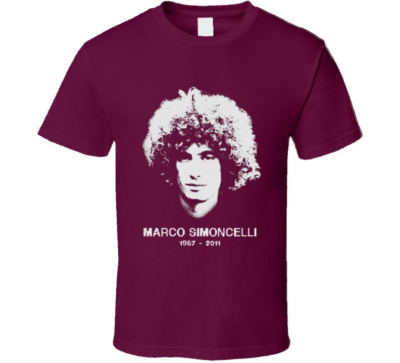 Marco Simoncelli RIP Moto GP World Championship Sepang accident tribute t-shirt