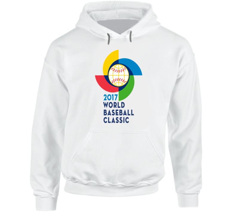 World Baseball Classic 2017 logo WBC sports fan t-shirt