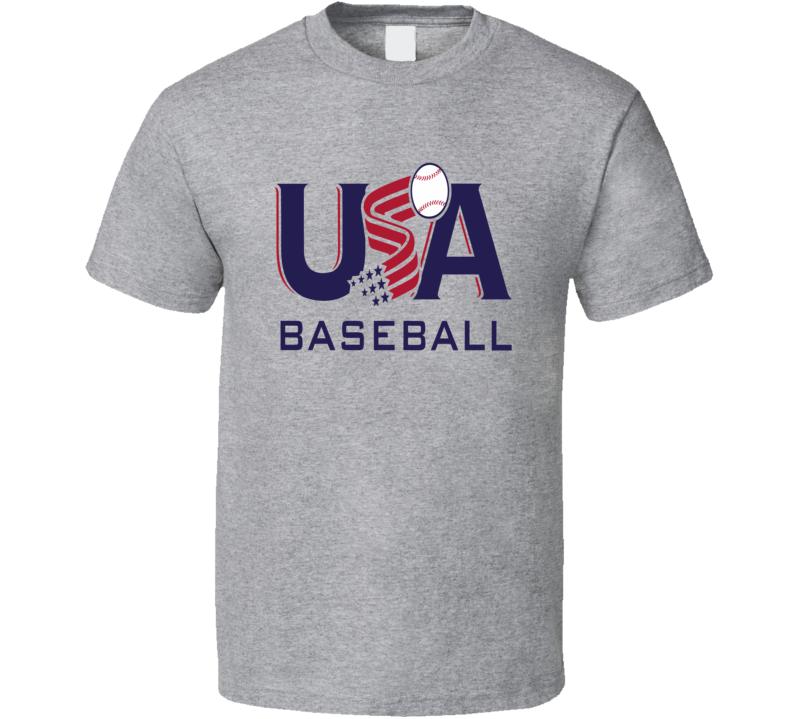 World Baseball Classic 2017 Team USA logo trending fan t-shirt