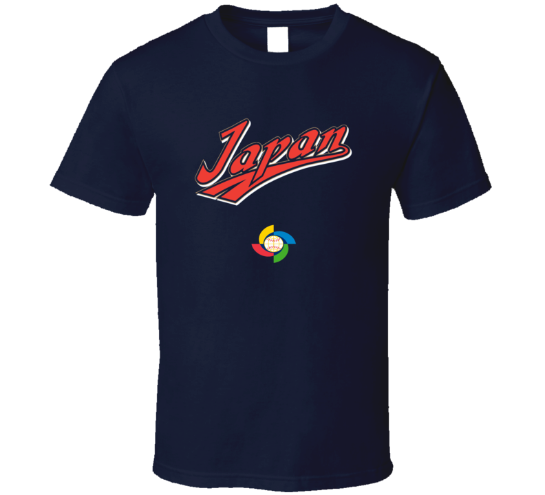 World Baseball Classic 2017 Japan logo fan t-shirt 2