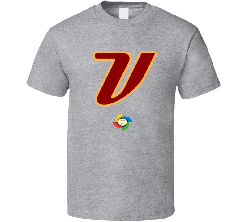 World Baseball Classic 2017 Venezuela logo fan t-shirt 2