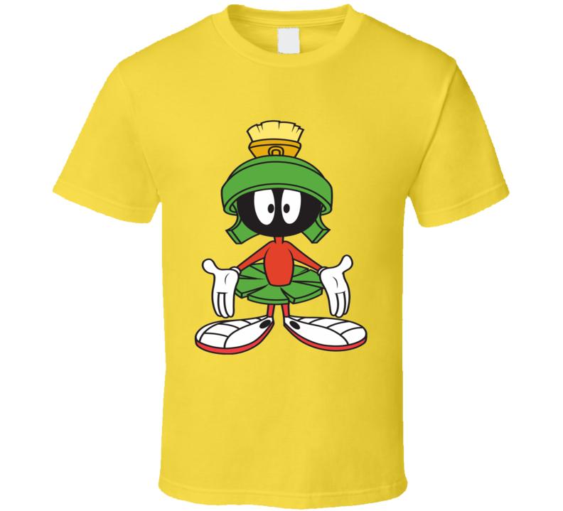Marvin the Martian Looney Toons classic cartoons fan t-shirt