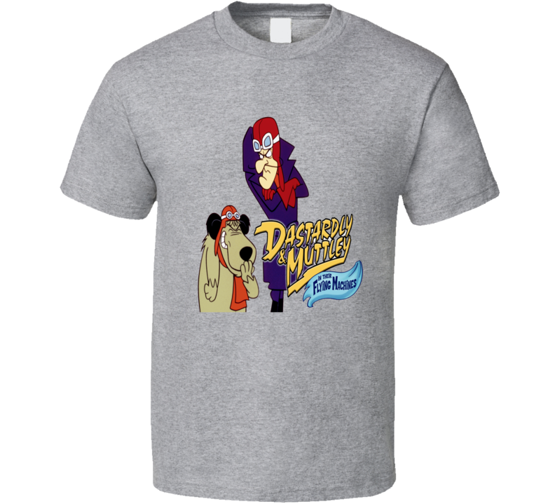 Dastardly and Muttley cartoons Flying machines fan t-shirt