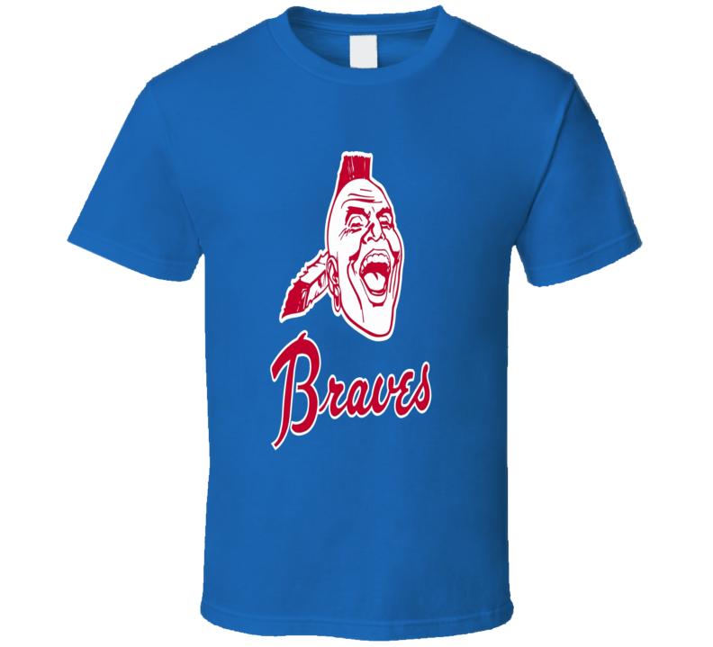 Atlanta Braves Old style logo trending baseball fan t-shirt