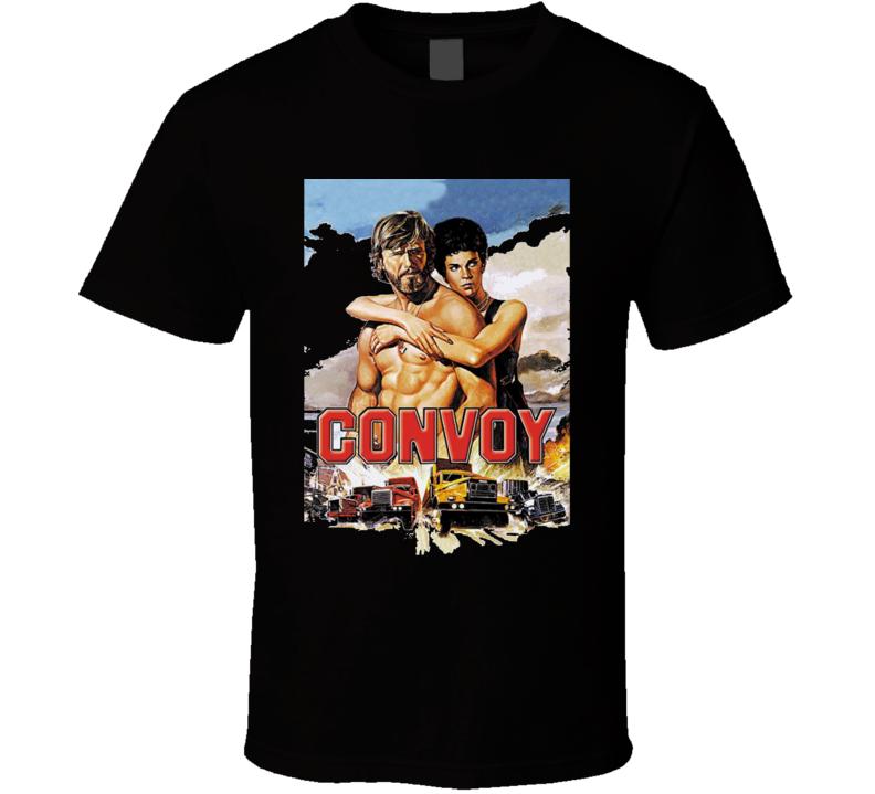Convoy classic trucking truckers CB fan t-shirt