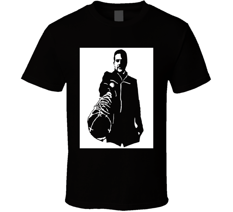 Negan and Lucille The Walking Dead bad guy Saviors leader t-shirt 2