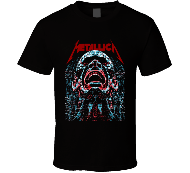 Classic Rock and Roll album cover style fan t-shirt