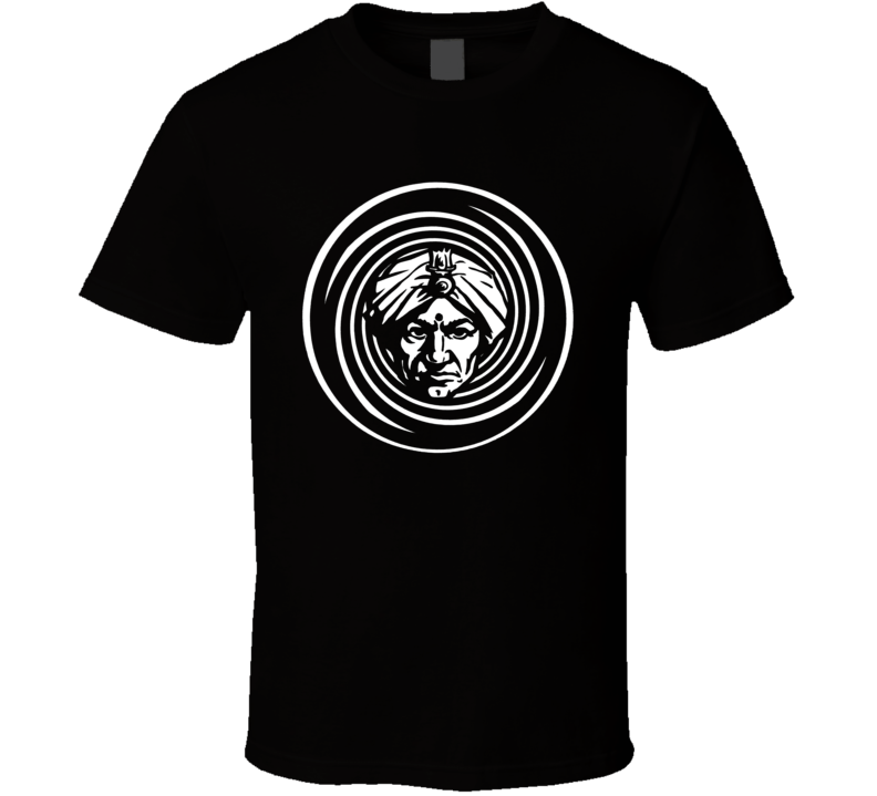 Swami head turban retro Indian Guru 60s 70s trending fan t-shirt