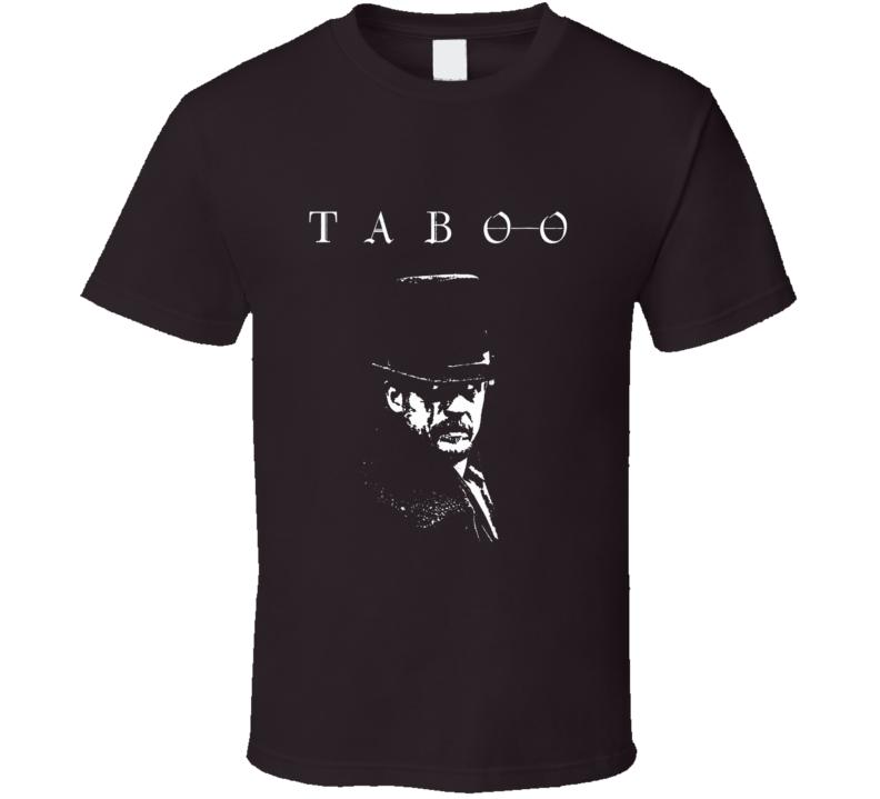 Taboo TV show Tom Hardy British Drama James Delaney East India fan trending t-shirt 2