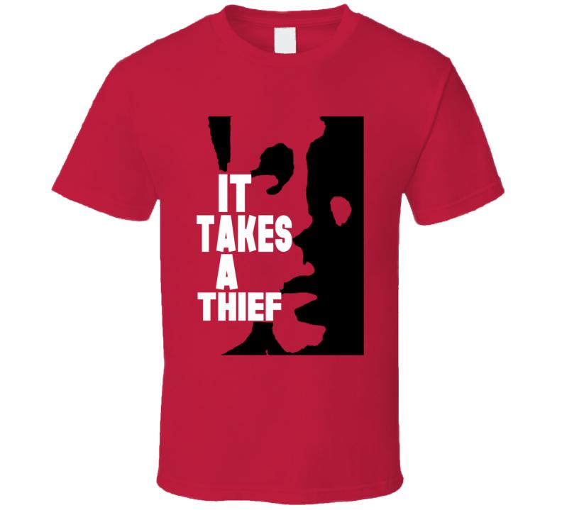 It Takes a thief retro TV drama Robert Wagner fan t-shirt